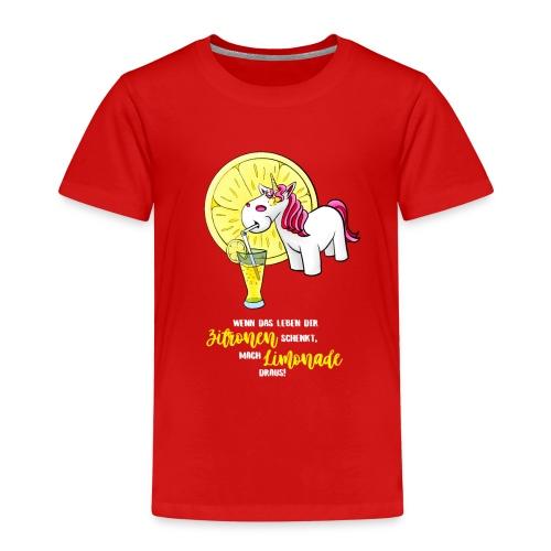 Wenn das Leben dir Zitronen schenkt - hell - Kinder Premium T-Shirt