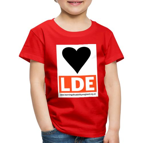 I Love Learning Disability England - Kids' Premium T-Shirt