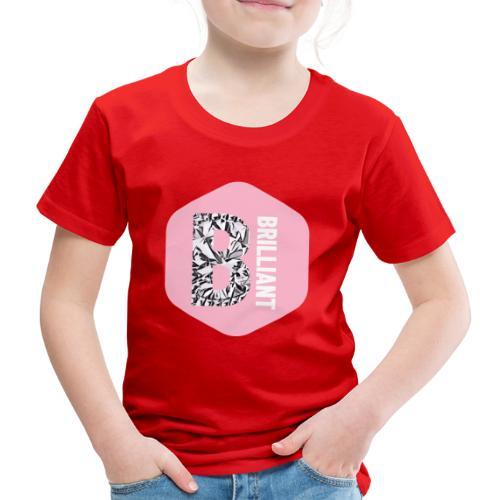 B brilliant pink - Kinderen Premium T-shirt