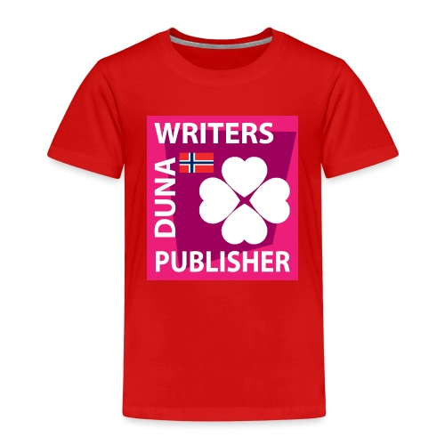 Duna Writers Publisher Pink - Premium T-skjorte for barn