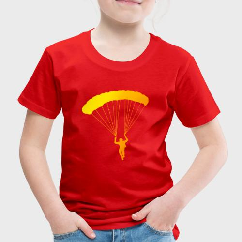 Colorfull Skydiver - Kinder Premium T-Shirt