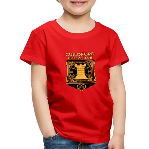 Guildford Chess Club - Kids' Premium T-Shirt