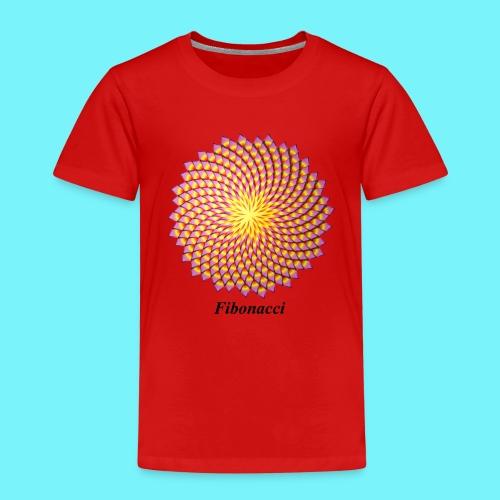 Fibonacci flower - Kids' Premium T-Shirt