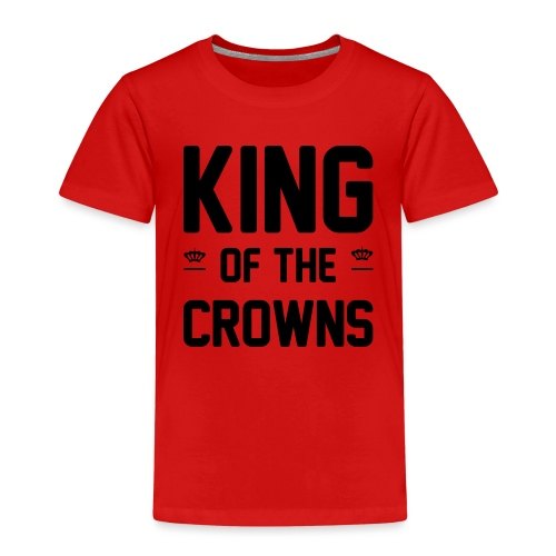 King of the crowns - Kinderen Premium T-shirt