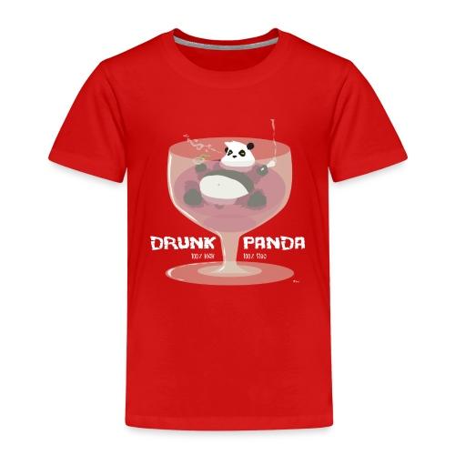 Drunk Panda - T-shirt Premium Enfant