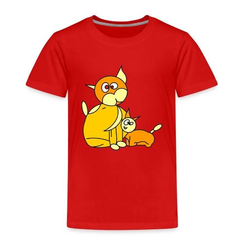 GATTINO DOLCEZZA - Maglietta Premium per bambini