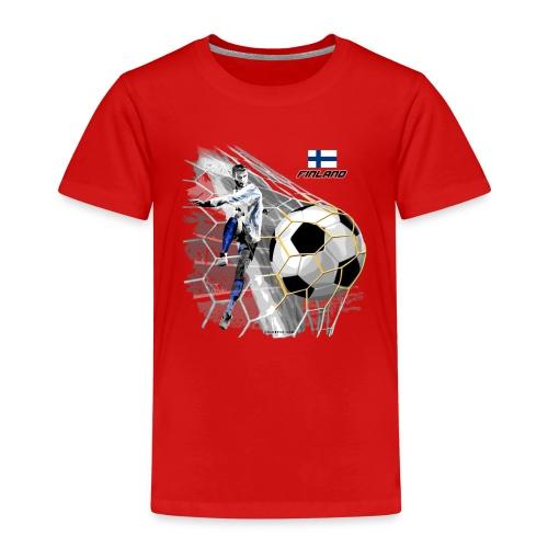 GP22F-05 FINLAND FOOTBALL PRODUCTS - Tuotteet - Lasten premium t-paita
