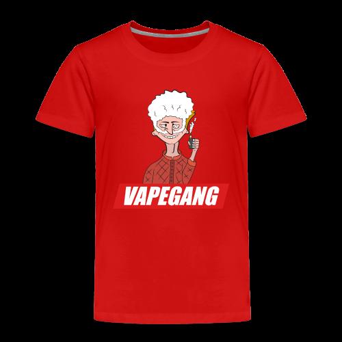 VAPEGANG - Premium-T-shirt barn