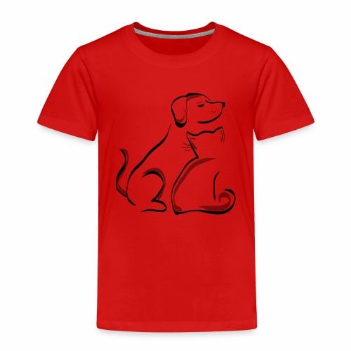 Haustiere bedrucken - Kinder Premium T-Shirt