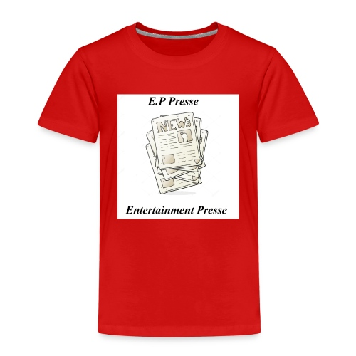 Enetertainment Presse Mode - Kinder Premium T-Shirt