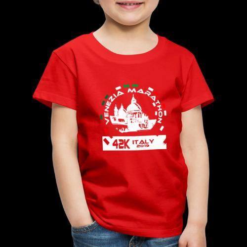 Venice Marathon, Venezia 42K Italy 2019 - Kinder Premium T-Shirt