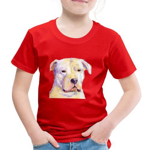 dogo argentino - Børne premium T-shirt
