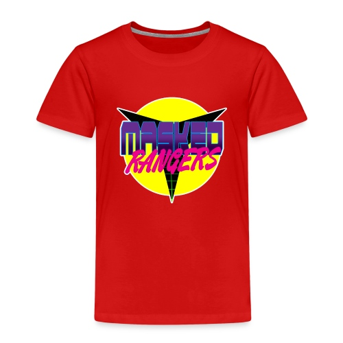 Masked Rangers Podcast - Kids' Premium T-Shirt