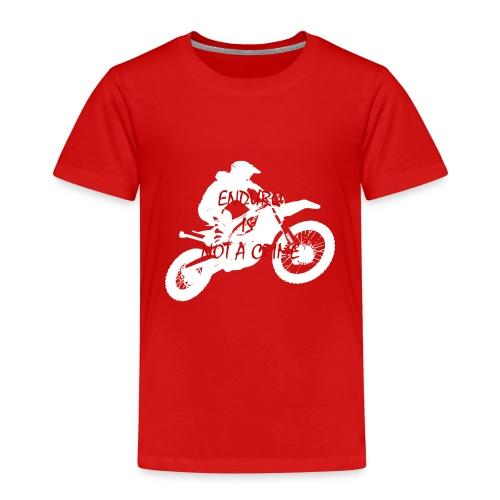 enduro is not a crime - Kinder Premium T-Shirt