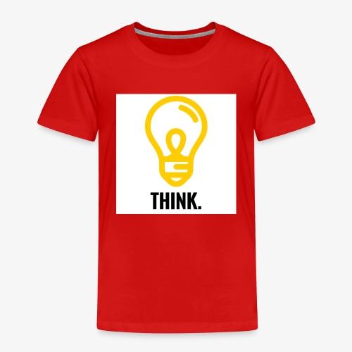 THINK - Maglietta Premium per bambini