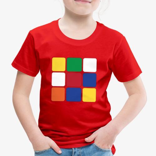 Square - Maglietta Premium per bambini