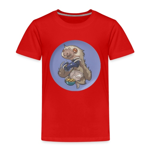 SlothGamer Channel Logo - Kids' Premium T-Shirt