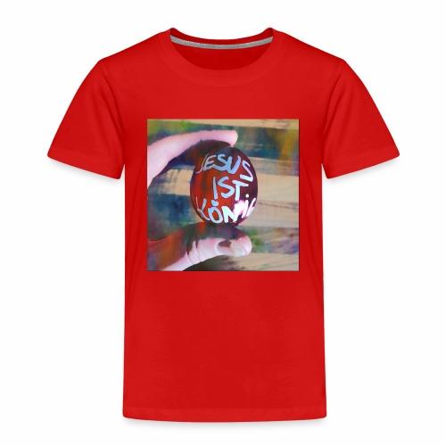 Jesus ist König - Kinder Premium T-Shirt