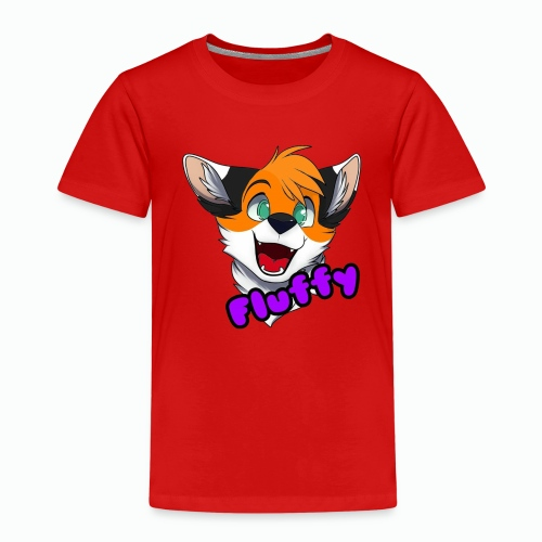 FluffyTheFox Badge - Kinder Premium T-Shirt