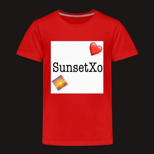 sunsetxo - Kids' Premium T-Shirt