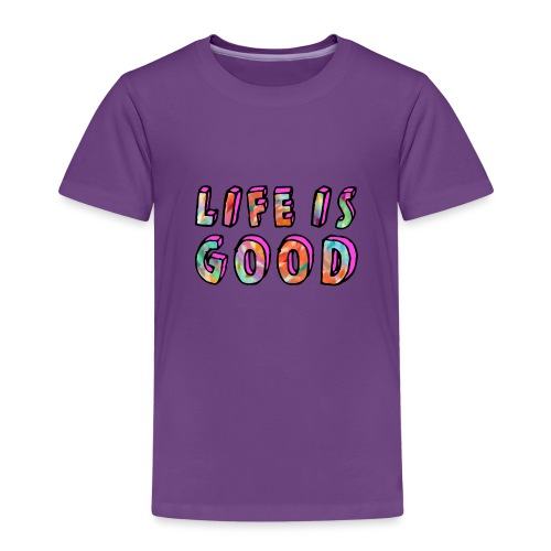 LifeIsGood - Kids' Premium T-Shirt