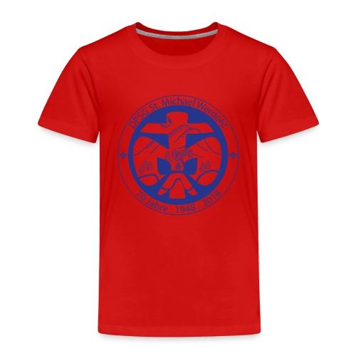 Logo Jubi Rund Blau - Kinder Premium T-Shirt