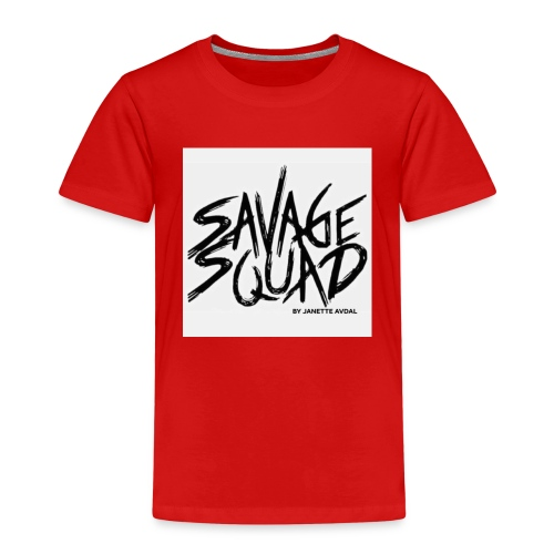 SAVAGE SQUAD BY JANETTE AVDAL - Premium-T-shirt barn