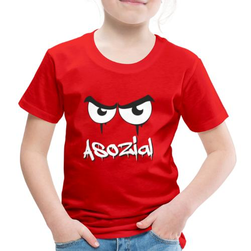 Asozial - Kinder Premium T-Shirt