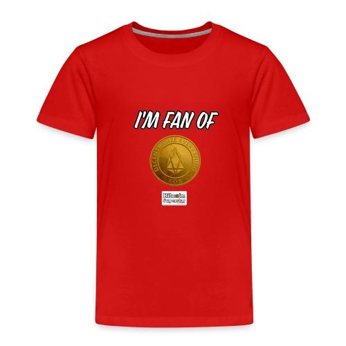 I'm fan of Eos - Maglietta Premium per bambini