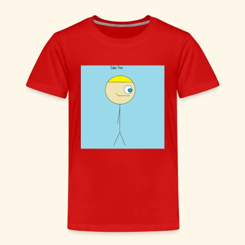 Poster Cubix Tron - Camiseta premium niño