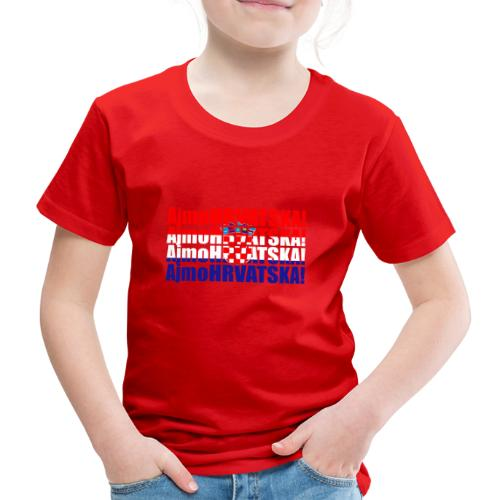 Hrvatska - Kinder Premium T-Shirt