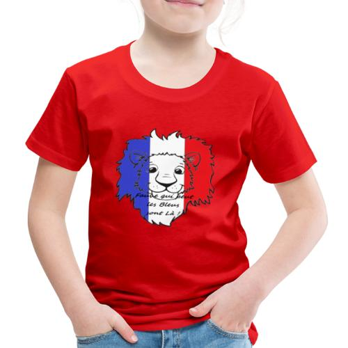 Lion supporter France - T-shirt Premium Enfant