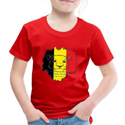 Lion supporter Belgique - T-shirt Premium Enfant
