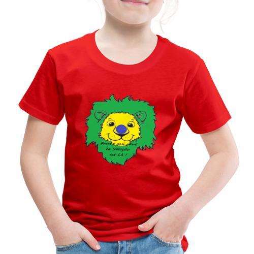 Lion supporter Brésil - T-shirt Premium Enfant