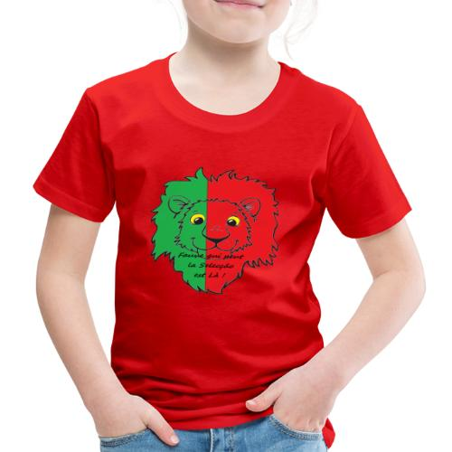 Lion supporter Portugal - T-shirt Premium Enfant