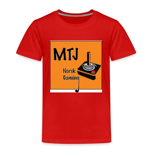 Mtj Logo - Premium T-skjorte for barn