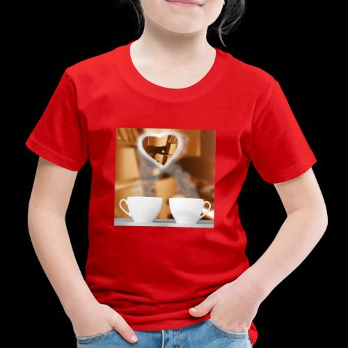 sticallbats coffee for two - Kids' Premium T-Shirt