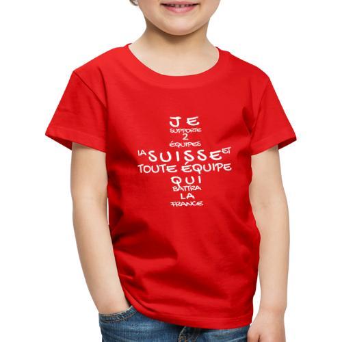 HopSuisse - Kinder Premium T-Shirt