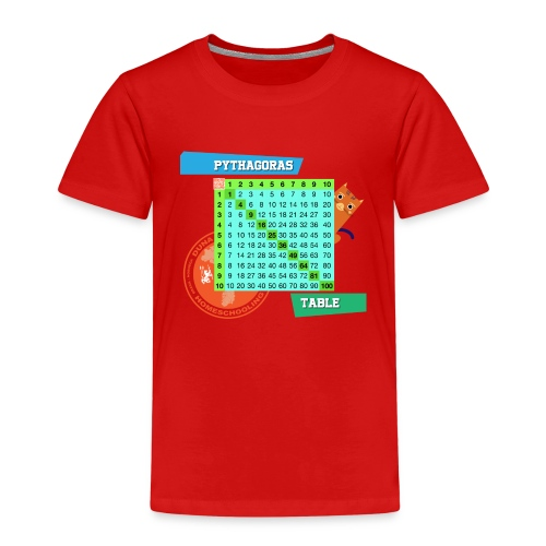 Pythagoras table - Premium T-skjorte for barn