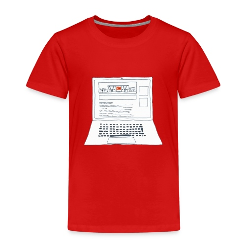 Laptop 20CENT Retail - T-shirt Premium Enfant