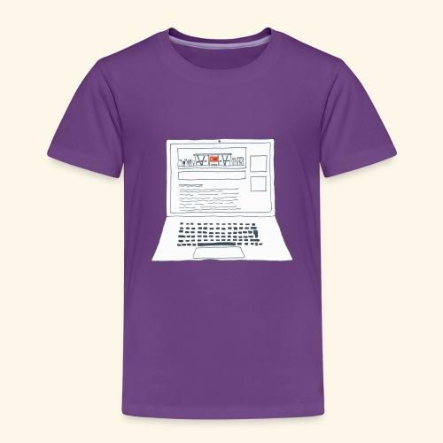 Laptop 20CENT Retail - T-shirt Premium Enfant