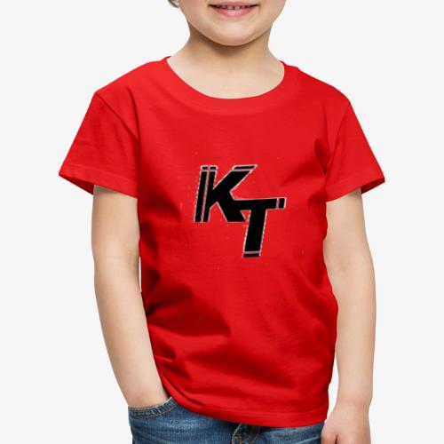 Skrapigt vit KT - Premium-T-shirt barn