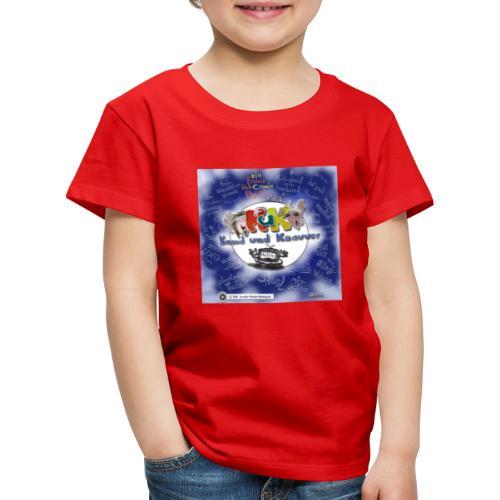 Web-Comic-Projekt Knuud und Ksavver - Kinder Premium T-Shirt
