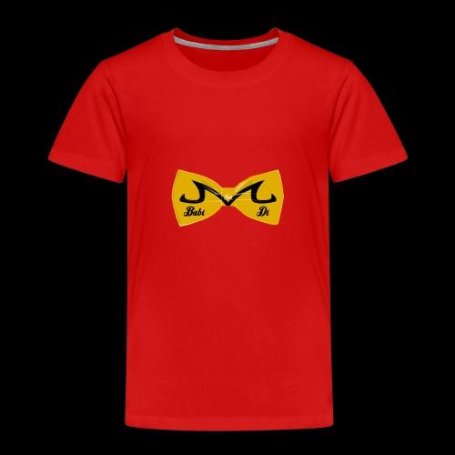 M-Logo von Babidi - Kinder Premium T-Shirt