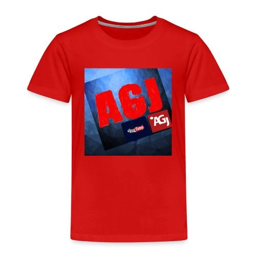 AGJ Nieuw logo design - Kinderen Premium T-shirt