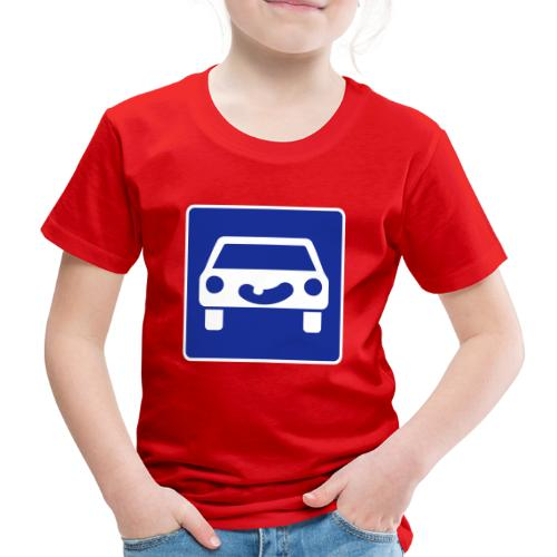 Kraftfahrtstrasse anfang - Kinder Premium T-Shirt