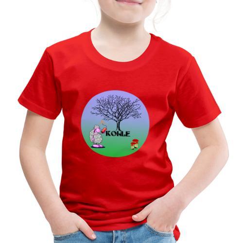 Schaf Kohle - Kinder Premium T-Shirt