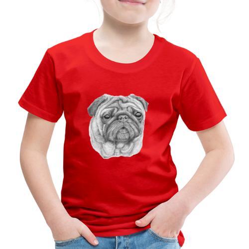 Pug - mops 1 - Børne premium T-shirt