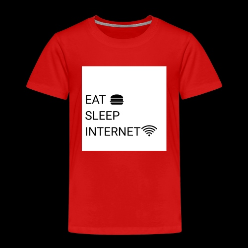 EAT SLEEP INTERNET - Kids' Premium T-Shirt