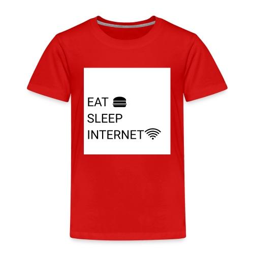 EAT SLEEP INTERNET - Kids' Premium T-Shirt